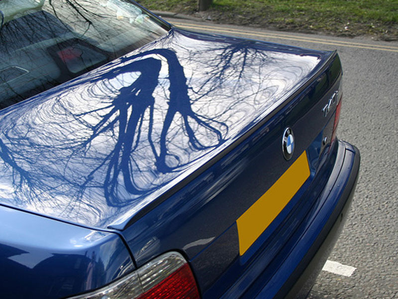 BMW E38 7-Series Rear Boot Trunk lip spoiler Wing Unpainted