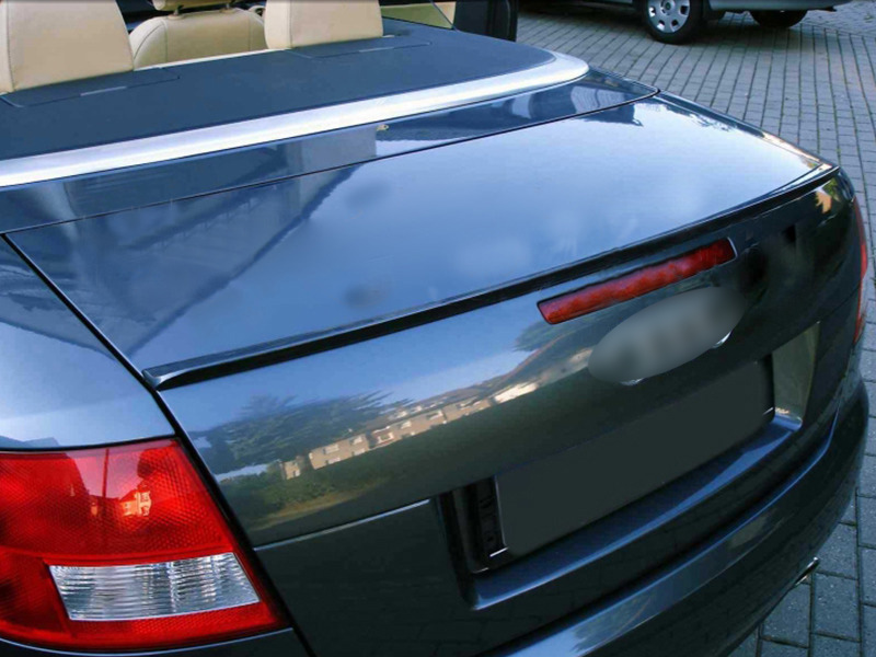 02-05 Audi A4 S4 B6 Sedan Saloon Boot Trunk Lip Spoiler Wing Unpainted