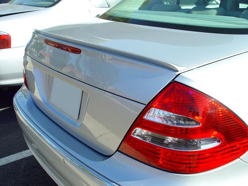 2003-2009 For Mercedes Benz W211 E-Class Sedan Trunk Lip Spoiler (UNPAINTED)