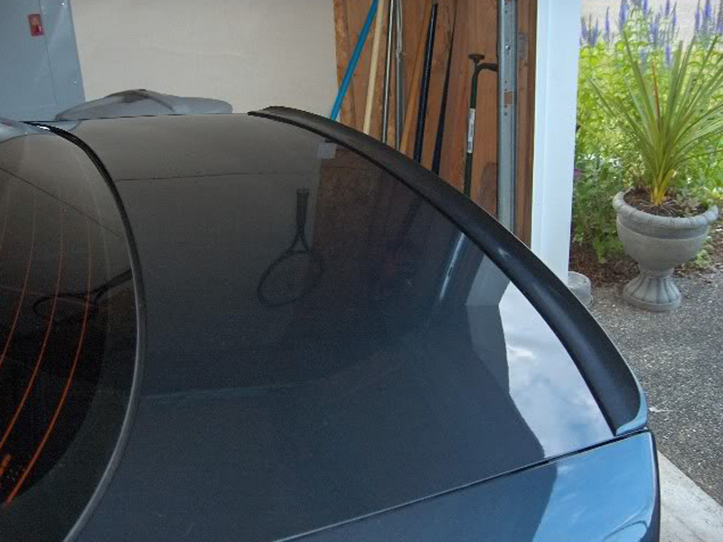 For Acura RSX 2002-2006 Trunk Lip Spoiler Wing (Unpainted)