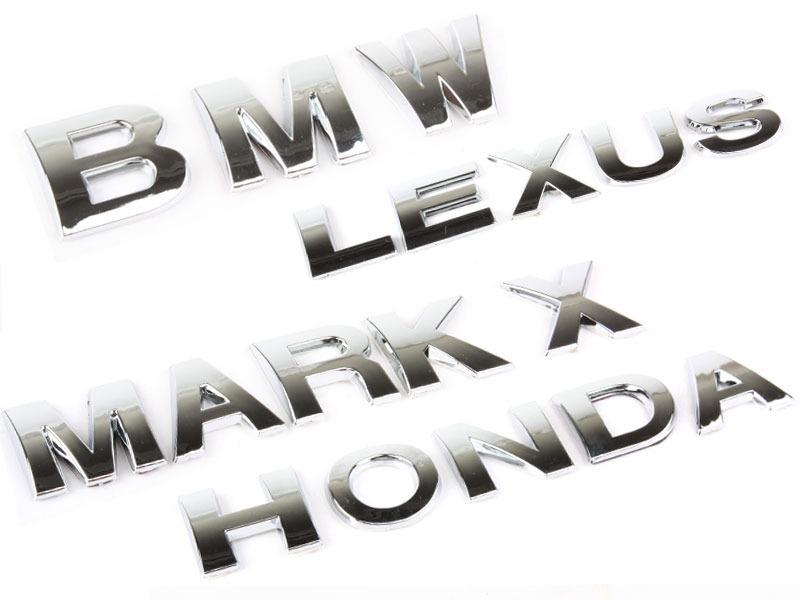 Letter K Chrome 3D Alphabet Emblem Bling Badge Shiny Symbol