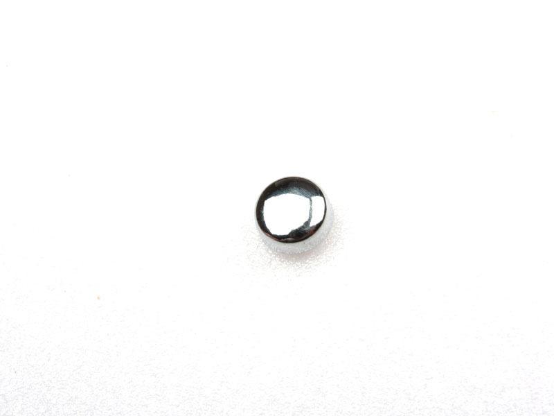Symbo Dot . Chrome 3D Emblem Bling Badge Shiny