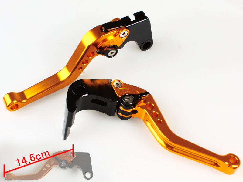 SHORTY CNC Brake Clutch Lever HONDA CBR1000RR/600RR(GOLD)