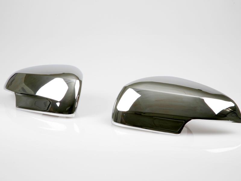 Chrome Door Mirror Covers For Jaguar X-type XF XFR XJ6 XJ8 X358 2008-2009