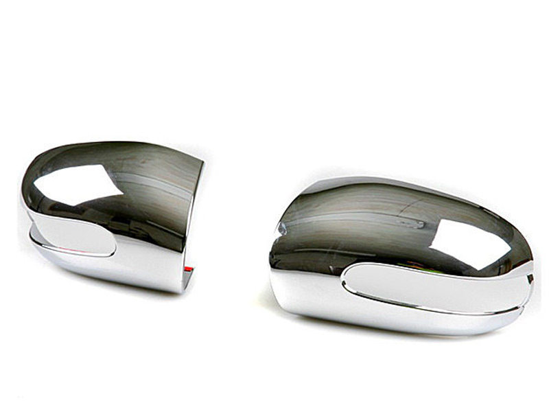 Chrome Door Mirror Covers For Mercedes Benz E-Class W211 S211 2003-2006