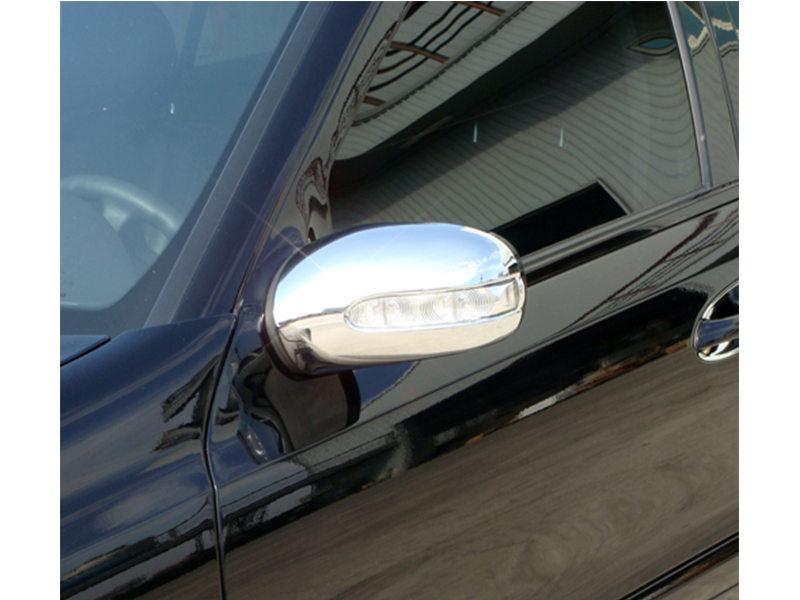 Chrome Door Mirror Cover Mercedes Benz E Class W211 S211 03-06