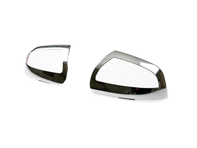 MERCEDES BENZ M-CLASS ML350 ML500 W164 CHROME SIDE DOOR WING MIRROR COVER