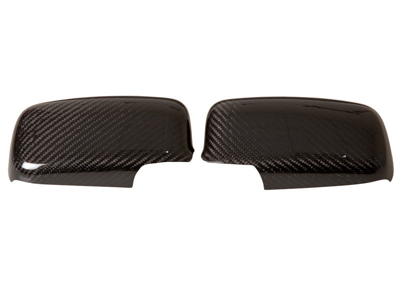 Dry Carbon Fiber Mirror Covers For Mitsubishi EVO 7 8 9