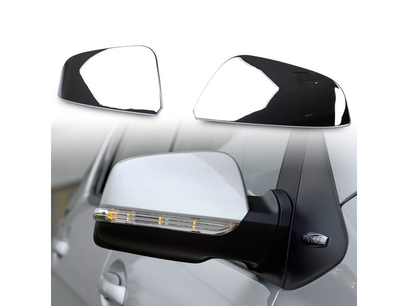 Chrome Door Mirror Covers For Mercedes Benz A-Class B-Class W169 W245 2008-2010