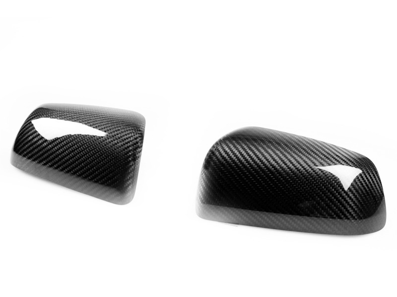 Dry Carbon Fiber Door Mirror Covers For Mitsubishi Lancer EVO 10 X