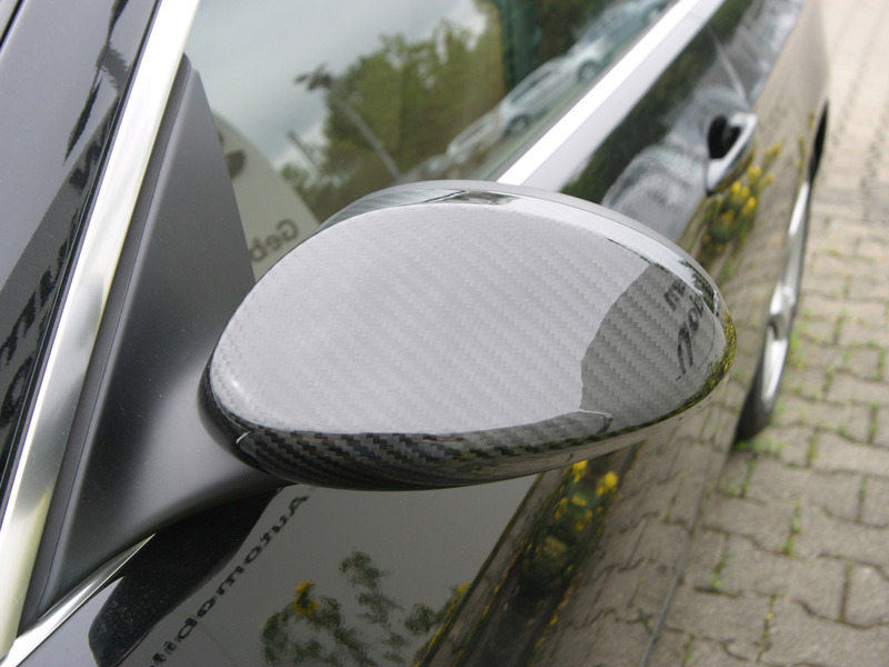 BMW E92 E93 2D Coupe Cabrio 328i 335i Real Dry Carbon Fibre Wing Mirror Cover