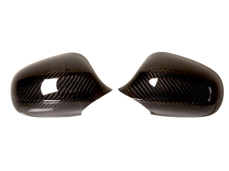 Real Dry Carbon fiber mirror covers 09-11 E90 E91 LCI 328i 335i 335d