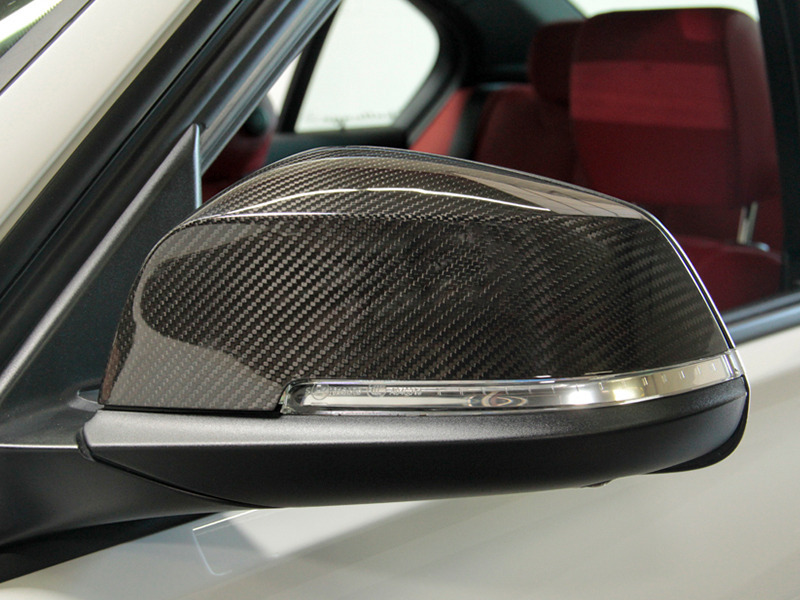 BMW 3 Series F30 F31 F20 Sedan Touring Real Carbon Fiber Door Mirror Covers