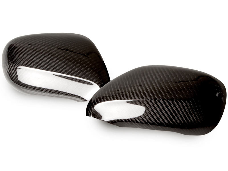 LEXUS IS250 IS350 LS460 Dry Carbon Fiber CF Door Side Mirror Covers RHD Pair