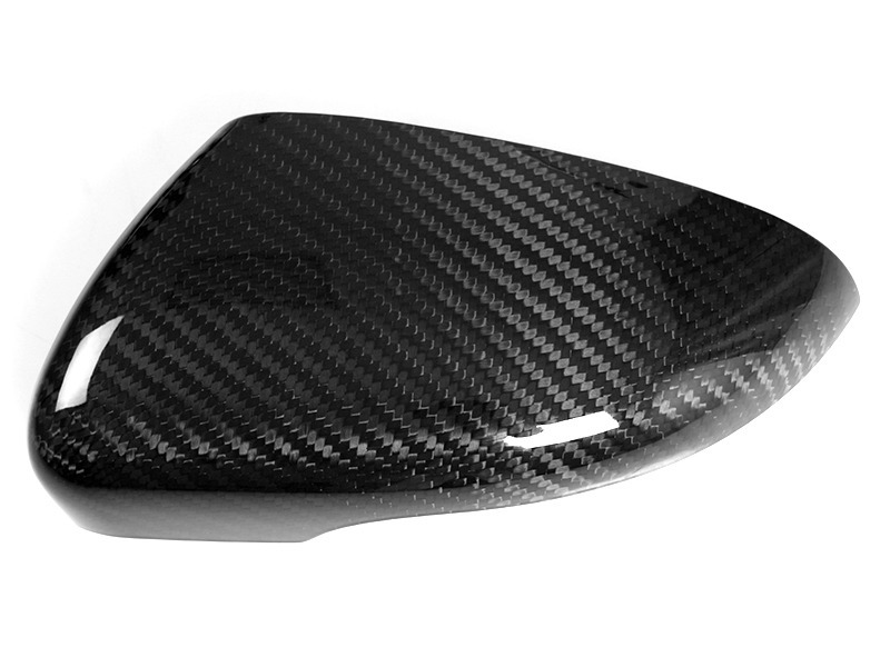 VW Volkswagen Golf MK6 GTI Dry Carbon Fiber CF Door Side Mirror Covers