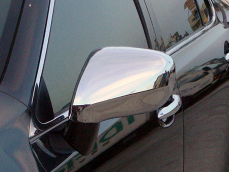 Pair Chrome Door Mirror Covers For Lexus IS250 LS350 LHD Only