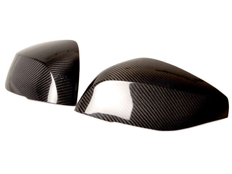 Carbon Fiber Side Mirror Covers For Infiniti Q50 Add On Caps 2014-2016