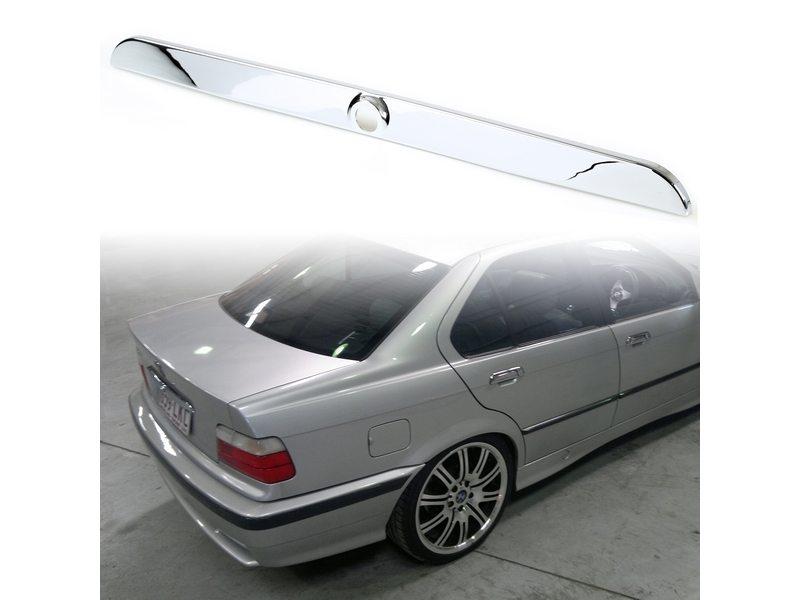 Chrome Trunk Lid Handle Trim Molding Cover For BMW E36 3 Series Sedan