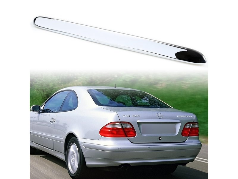 Chrome Trunk Lid Handle Cover For Mercedes Benz CLK-Class W208