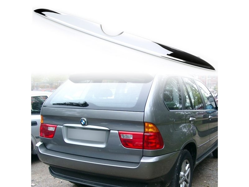 00-06 BMW X5 E53 CHROME Rear Trunk Boot Lid Trim Cover