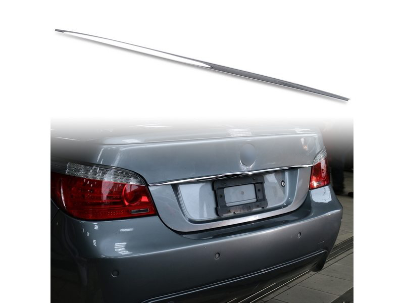 Chrome Boot Strip Handle Cover For BMW 5 Series E60