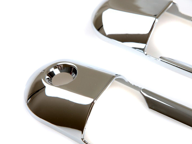 02-07 FORD EXPLORER SUV CHROME 4PC FRONT REAR EXTERIOR DOOR HANDLE COVER SET