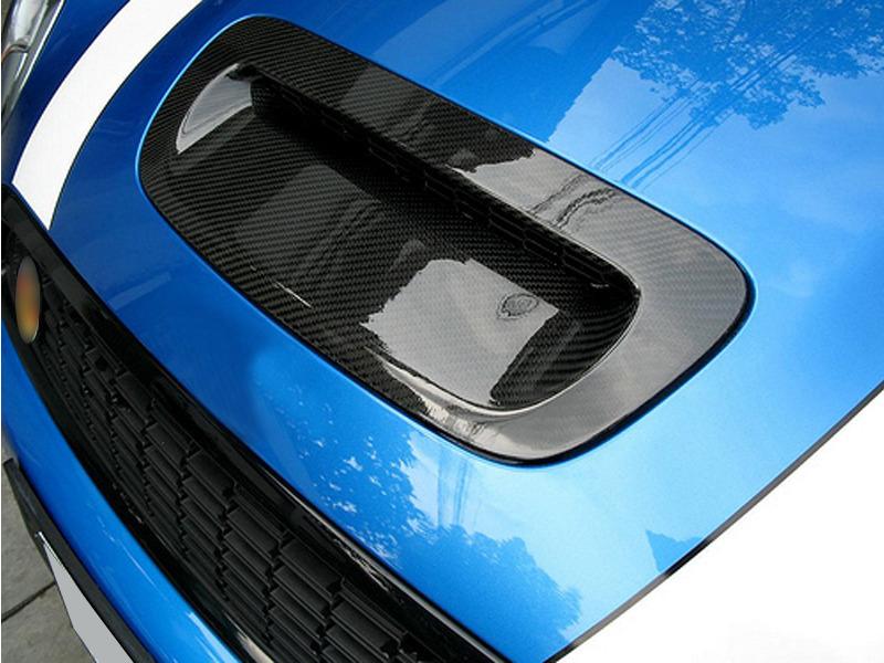 Carbon Fiber Hood Scoop For Mini Cooper R55 R56 R57