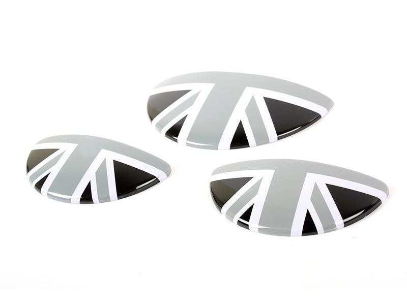 UK GB Black Interior Door Handle/Glove Box Cover For Mini Cooper S R50 R52 R53