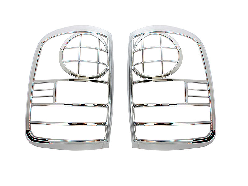 Tail Light Rear Lamp Bezel Cover Chrome Trim For Ford F150