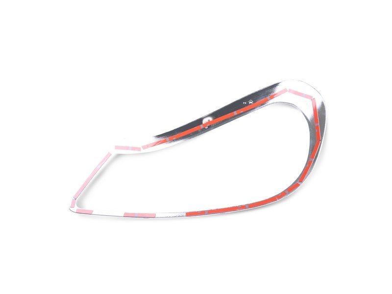 Head Light Front Lamp Bezel Cover Chrome Trim For Porsche Cayenne 957 Ebay