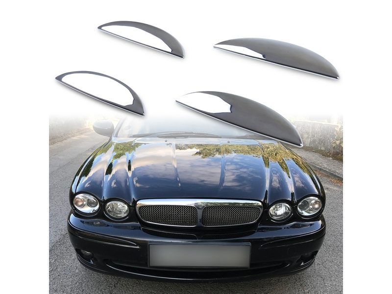 Exterior Chrome Door Handle Cover For Jaguar X-Type X400