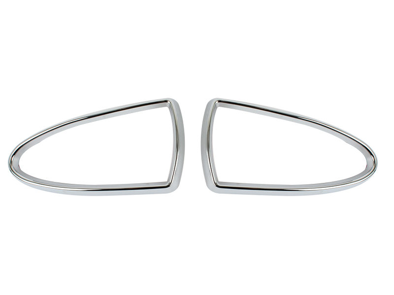 chrome fog light trim for jaguar s