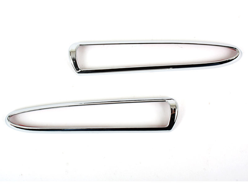 Chrome Side Marker Signal Light Trim For Jaguar XJ8 XJR X350