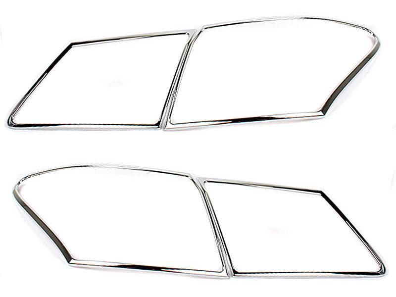 Tail Light Rear Lamp Bezel Cover Chrome Trim For Lexus ES350
