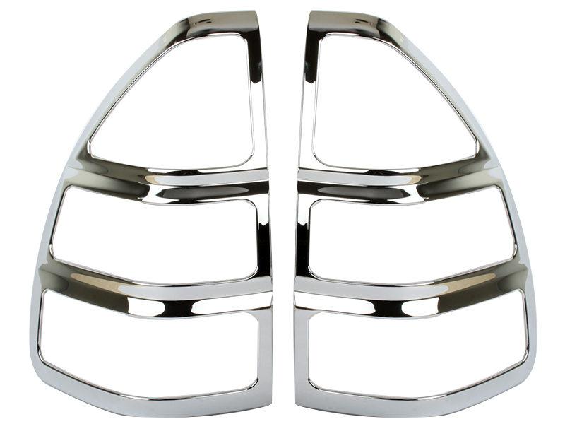 Tail Light Rear Lamp Bezel Cover Chrome Trim For Lexus GX470