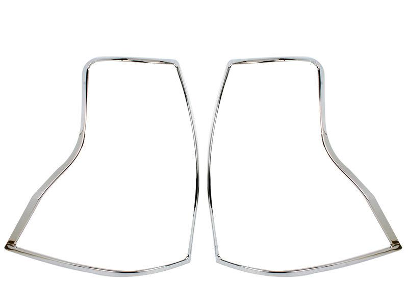 Tail Light Rear Lamp Bezel Cover Chrome Trim For Lexus GX460
