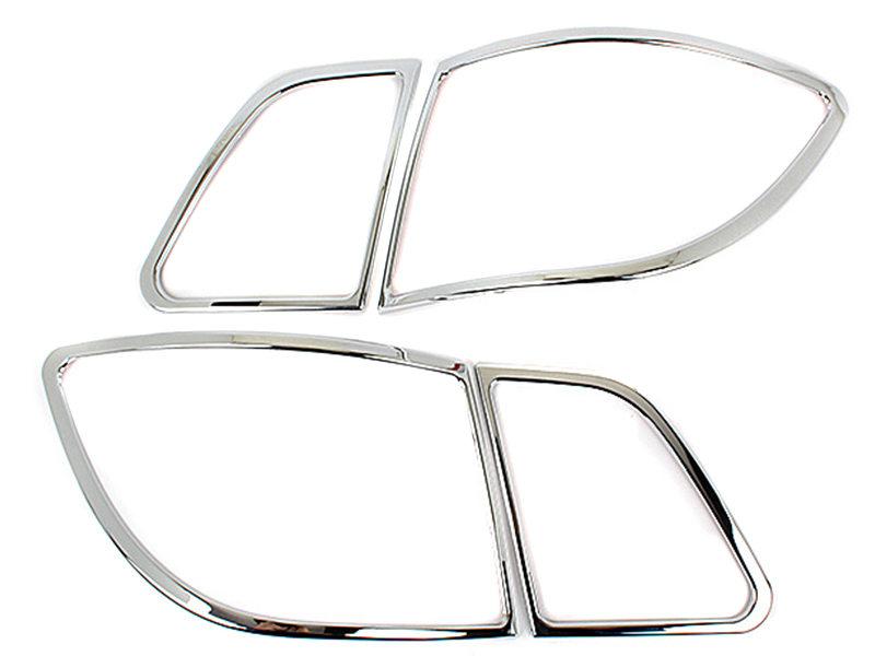 Tail Light Rear Lamp Bezel Cover Chrome Trim For Mercedes Benz W245