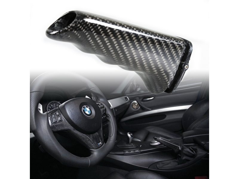 Carbon Fiber Replacement E-Brake Handle Cover BMW E82 E39 E46 E90 E92 E60 E38