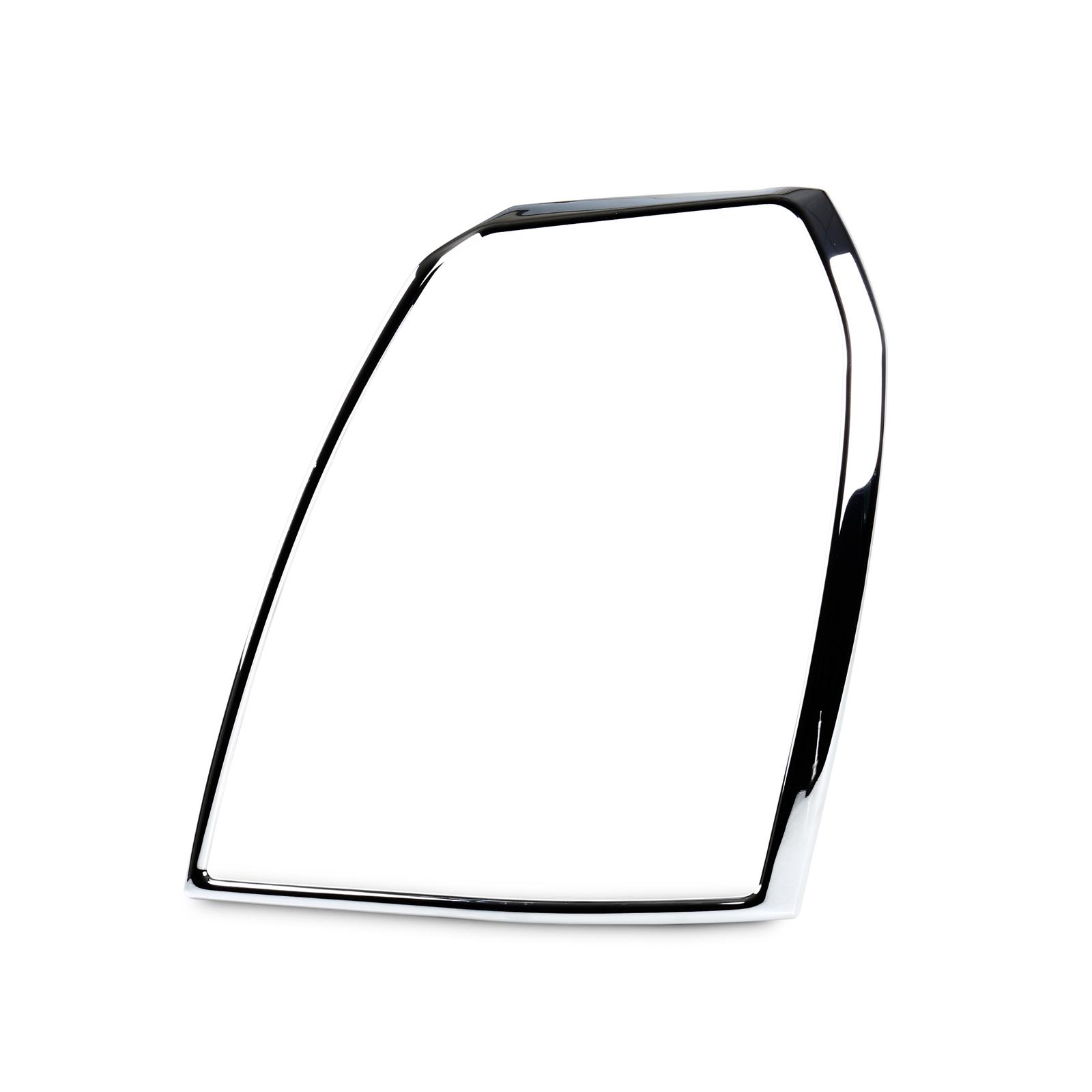 head light front lamp bezel cover chrome trim for