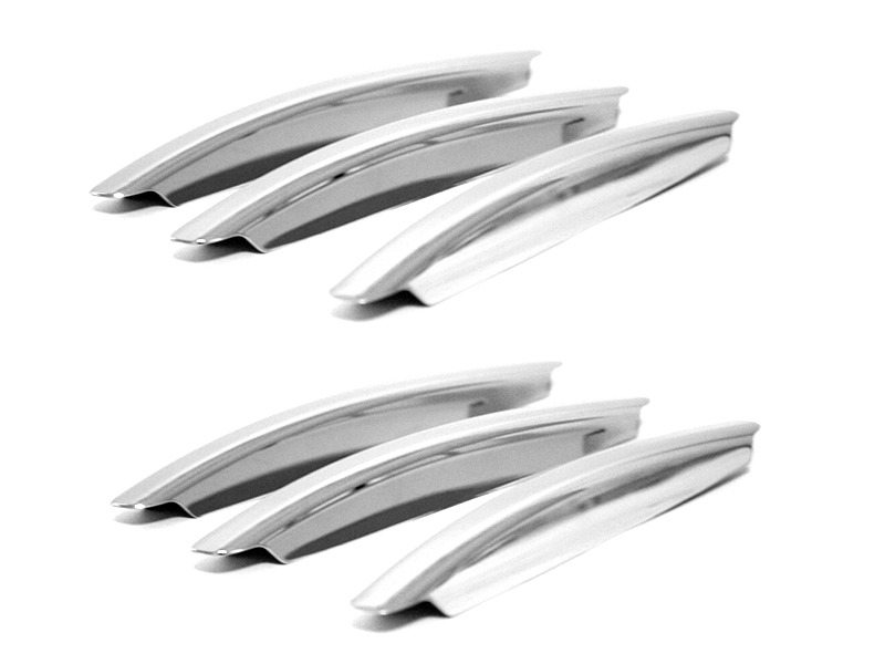 Chrome Bonnet Hood Vent Trims Set For Mercedes Benz W166 X166