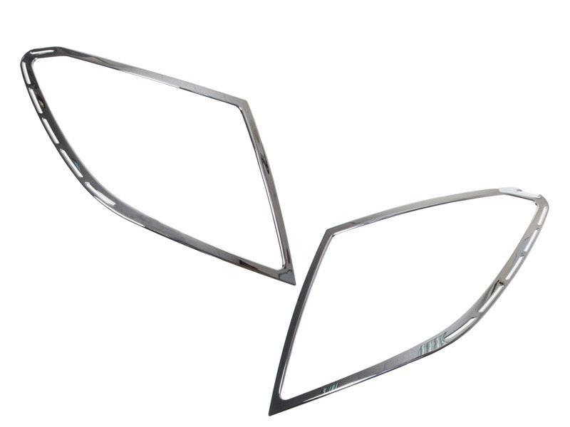 Tail Light Rear Lamp Bezel Cover Chrome Trim For Mercedes Benz W204 2007-2015