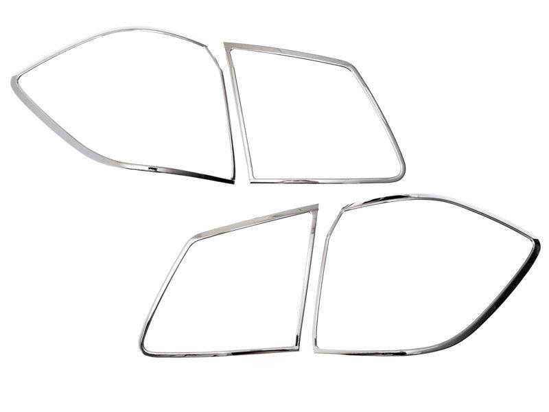 Tail Light Rear Lamp Bezel Cover Chrome Trim For Mercedes Benz GL-Class X166 2013-2015