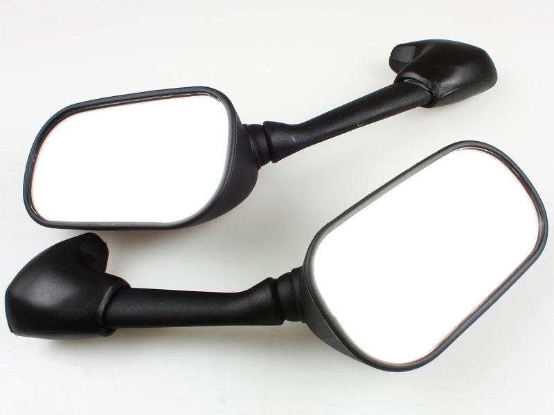 Mirror Mirrors for Yamaha YZF-R6 YZF R6 2001 2002 Black