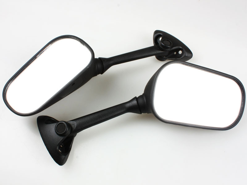 Mirror Mirrors for 2004-2005 Suzuki GSXR 600 / 750 Black