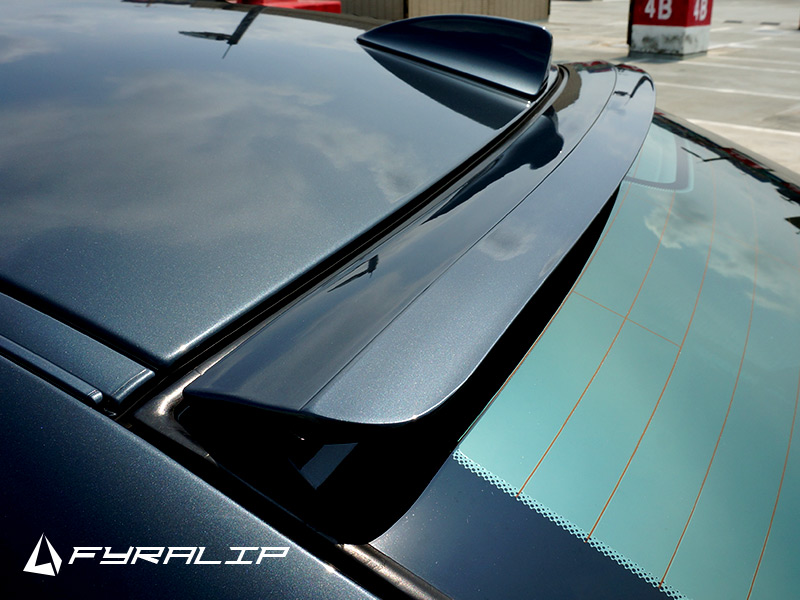 Fyralip Forte Window Roof Spoiler For Dodge Charger LX Sedan 05-10