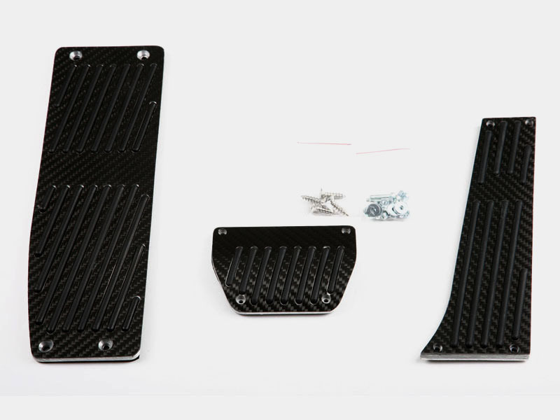 Real Carbon Pedals + Footrest BMW E46 E90 E92 E87 AT Automatic LHD M TECH 3pcs