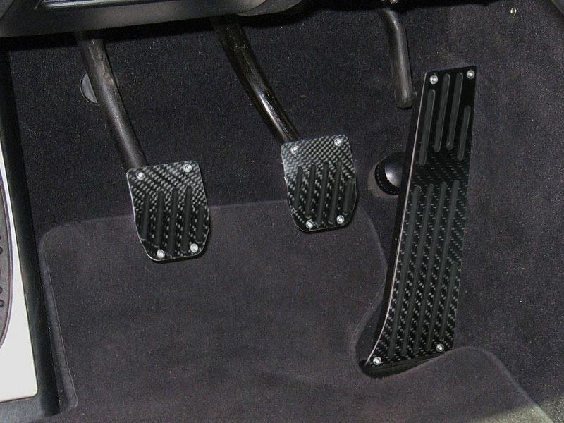 BMW E39 BLACK CARBON MT PEDAL 3PCS E28 E34 E39 E60 E61