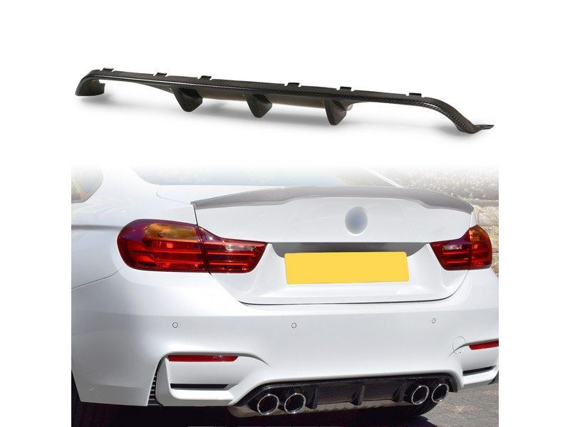 M performance Style Carbon Fiber Rear Diffuser Quad Exhaust BMW F80 M3 F82 M4