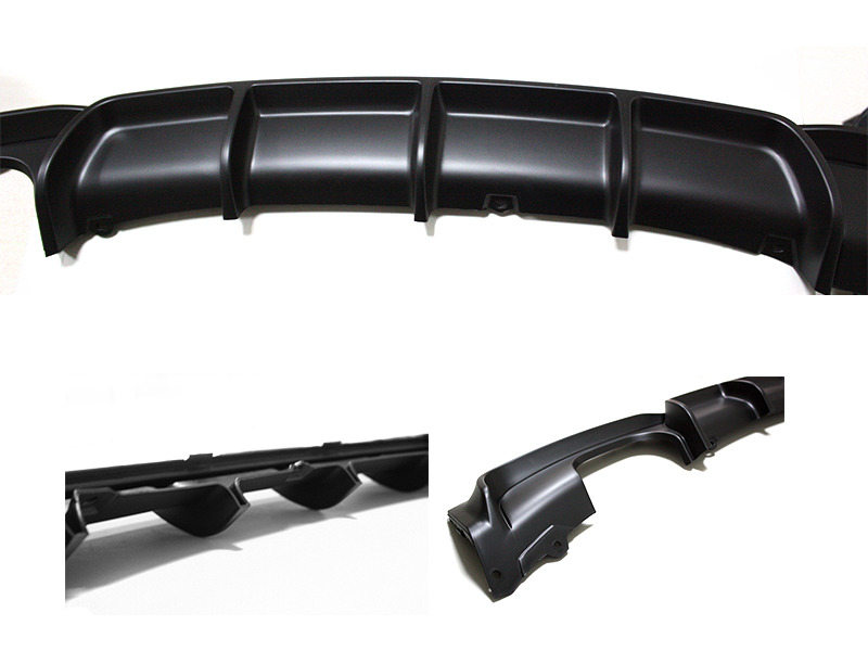 M Performance Style PP Rear Bumper Diffuser For BMW F30 328i