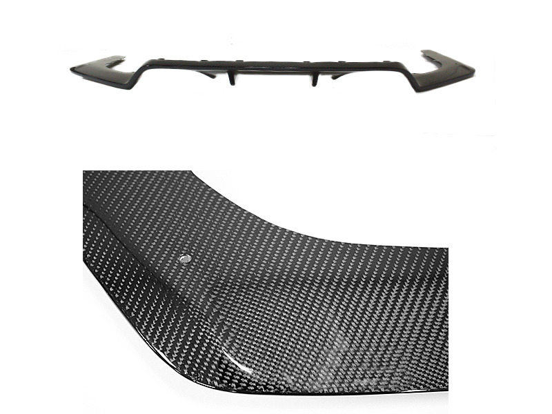3D Style Real Carbon Fiber Rear Bumper Diffuser For BMW F80 M3 F82 M4
